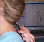 Chiropractic Oneida NY Office inspecting patient
