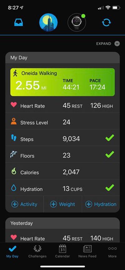 Chiropractic Oneida NY Exercise Tracking